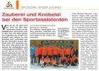 Mai 2011 Sport in Baden-Wuerttemberg